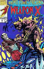 Marvel Comics Presents: Weapon X #83 Signed By Artist Erik Larsen (Lg)