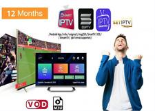 TOP QUALITE(✔️M3U✔️SMART TV✔️ANDROID✔️MAG)SMARTERS IP*TV Abonnement 12 mois