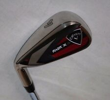 Callaway RAZR X HL 4 iron with M-10 XP uniflex steel shaft - LEFT HANDED