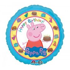 PALLONE MYLAR PEPPA PIG 45 CM HAPPY BIRTHDAY