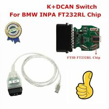 1PC Car Diagnostic Tool Cable USB Interface OBD2 OBDII For BMW INPA K+DCAN