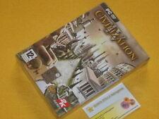 Sid Meier's CIVILIZATION IV 4 NUOVO SIGILLATO VERSIONE ITALIANA PRIMA STAMPA NEW