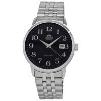 Orient  Symphony FER2700JB0 Black Dial Stainless Steel Men's Watch