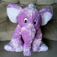 Kohls Cares For Kids ELEPHANT Dr. Seuss The Nose Book Purple Animal 18in Plush