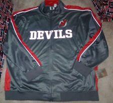 NEW NHL New Jersey Devils Full Zip Track Reflective Jacket Coat BIG 5XL NEW NWT
