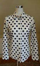 Boden Hip Length Casual Spotted Tops & Shirts for Women