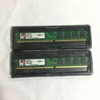 Kingston 4GB 2 x 2GB PC2-6400 DDR2 800Mhz RAM DIMM Desktop Memory KVR800D2N6/2G