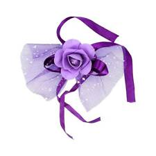 Rose Flowers and Bow Ribbon Decoration Car Decor Wedding Flowers