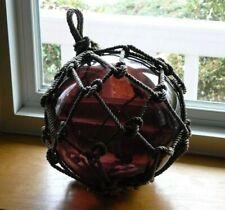"Vintage Large Glass Ball Net 30"" Circumference Float Fishing Ball Buoy"