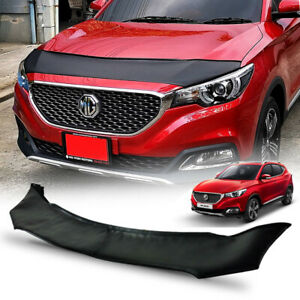 FRONT BLACK BUG STONE GUARD SHIELD BONNET COVER TRIM FOR MG ZS 17-2020