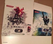 Oficial Konami Metal Gear Acid Psp Soporte de cubo de cartón promocional, a estrenar