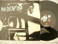 """METAL DOUGHNUT BAND 12"""" OUT DAMNED SPOT + flyers....... 45rpm / metal"""