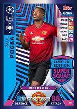 22f3026c3 2018   19 UEFA Match Attax Paul Pogba Limited Edition Card Super Squad LE9