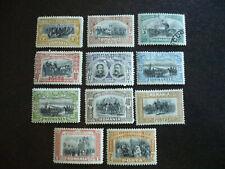 Stamps - Romania - Scott# 176-185
