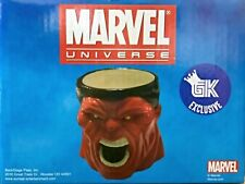 Game King Exclusive Marvel Universe Red Hulk Molded Mug Brand New In Box