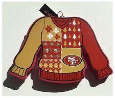 San Francisco 49ers NFL Football américain Arbre de Noël Pull Décoration