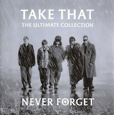 Take That - Never Forget (The Ultimate Collection) SEALED..SENT 1ST CLASS POST
