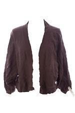 LAURIE B. Women's Cobblestone Open Front Shrug Sweater MB83320 Sz S $44 NEW