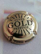 Capsule de Champagne PIERRE MIGNON Prestige Gold Doré Noir.