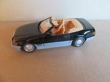 155H Toy 1:24 Mercedes 500 SL R129 Cabriolet Black