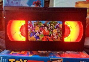 Dragon Ball Z Retro VHS Night Light, Desk Lamp, Led, Cartoon, Bedroom Lamp, Kids