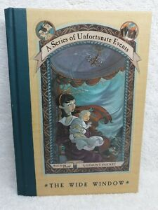 #3 - A Series of Unfortunate Events, The Wide Window by Lemony Snicket, HC