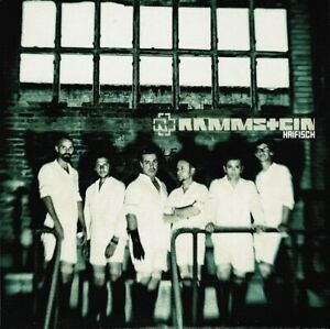RAMMSTEIN Haifisch Record Single 7 Inch Universal 2010 Blue Vinyl Rock And Metal