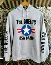 Rare Vintage 90s The Queers Sweater Hoodie Size Large,Punk,The Ramones