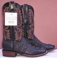 Lucchese Genuine HBC Crocodile Tail Skin, Style# CY7142, (9 D)