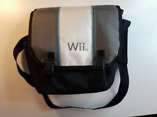Nintendo Wii Carrying Case Messenger Travel Bag With Strap Authentic Padded OEM