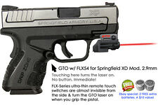 ArmaLaser GTO for Springfield XD Mod 2.9mm RED Laser Sight w/ FLX54 Grip On/Off