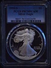 1992-S PCGS Proof 70 U.S. Silver Eagle
