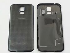 Original OEM Samsung Galaxy S5 Battery Back Cover W/NFC for SPRINT/TMOBILE-BLACK