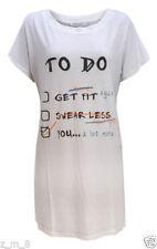 T-shirts graphiques pour femme taille 44