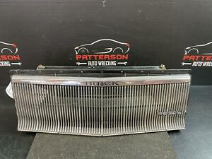 1985 BUICK REGAL FRONT BUMPER GRILL GRILLE INSERT ID 25518738