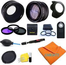 21PCS PRO LENS & HD FILTER KIT FOR Canon Rebel EOS T3 T4 T5 T5I 30D 20D XS