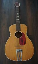 Vintage Stella Harmony 3/4 Parlor Acoustic Guitar-Made in U.S.A.