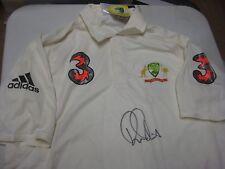 Ricky Ponting (Australian Legend) signed Australian Test Match Shirt  + COA