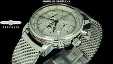 NEW Zeppelin 7680M-1 Swiss Ronda 5130.D Quartz Chronograph SLS German Made Watch