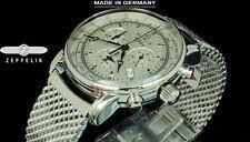 NEW Zeppelin 7680M-1 Swiss Ronda 5130.D Quartz Chronograph SLS German Made Watch