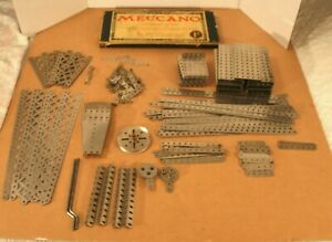 1910s/20s MECCANO Outfit #1a and a Huge Amount of Nickel Parts!