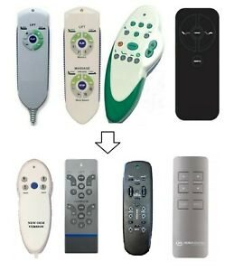 Current Generation Replacement Remotes for Tempur Bases