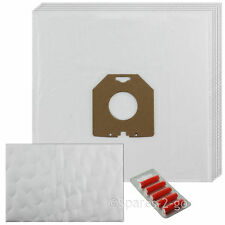 5 x Cloth Vacuum Bags & Filter For Dirt Devil CYLINDER DD270 Hoover Bag + Fresh