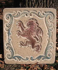 Medieval lion plaque/stepping stone plastic mold Right