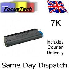 5 x OKI B430/B440/MB460/MB470/MB480 New Compatible 7K Toner Cartridges. 43979202