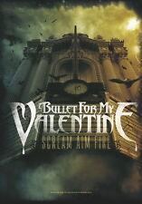 "Bullet For My Valentine Drapeau/Drapeau ""Scream Aim Fire"