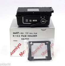 Mamiya RB PRO-SD 120 6x4.5 FILM HOLDER / FILM BACK