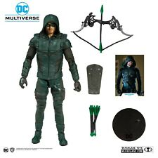 "McFarlane DC GREEN ARROW CW TV Loose Complete 7"" Inch No Packaging IN HAND!!"