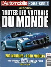 l'Automobile Magazine Hors-Sériie Toutes Les Voitures du Monde 2005/2006