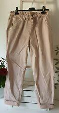 Jogpants algodón/elastano 7/8 schlupfhose talla 38 super cómodos rosa italystyle